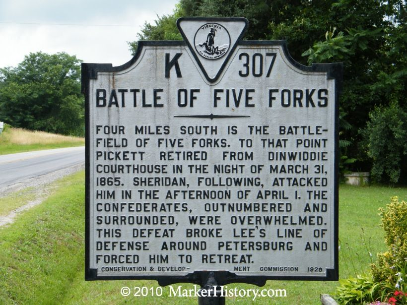 Albert E. Fernald Received Congressional Medal of Honor for his Actions at the Battle of Five Forks